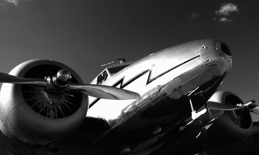 Lockheed Photograph - Lockheed 12a Electra Junior 1936 - I by Maxwell Amaro
