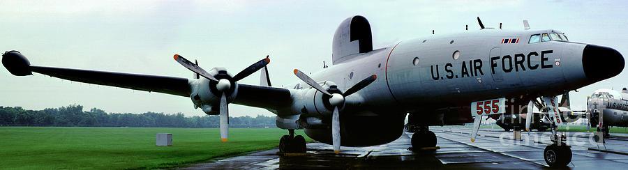 555 Photograph - Lockheed Ec-121d Warning Star, Early Warning Aircraft by Wernher Krutein