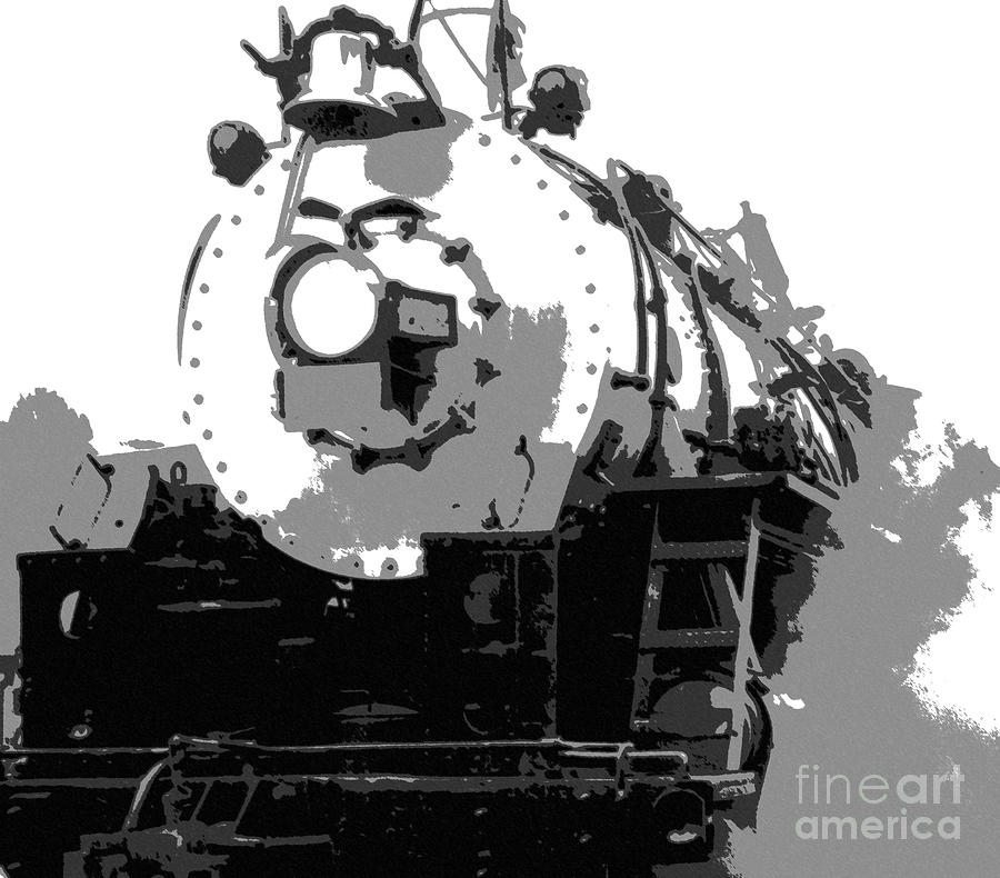 Locomotive Mixed Media - Locomotion by Richard Rizzo
