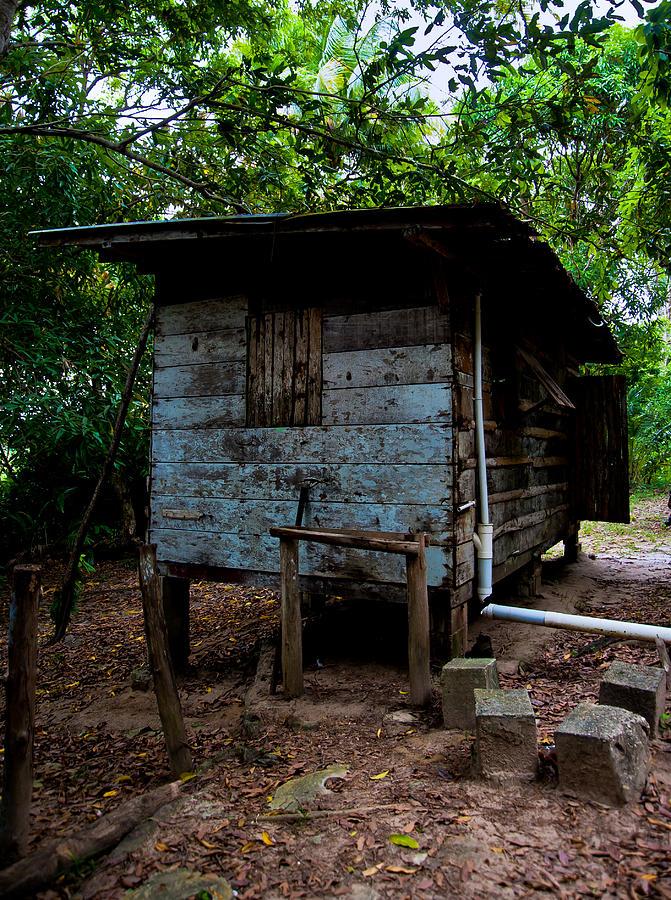 Hut Photograph - Lodgings by Sarita Rampersad
