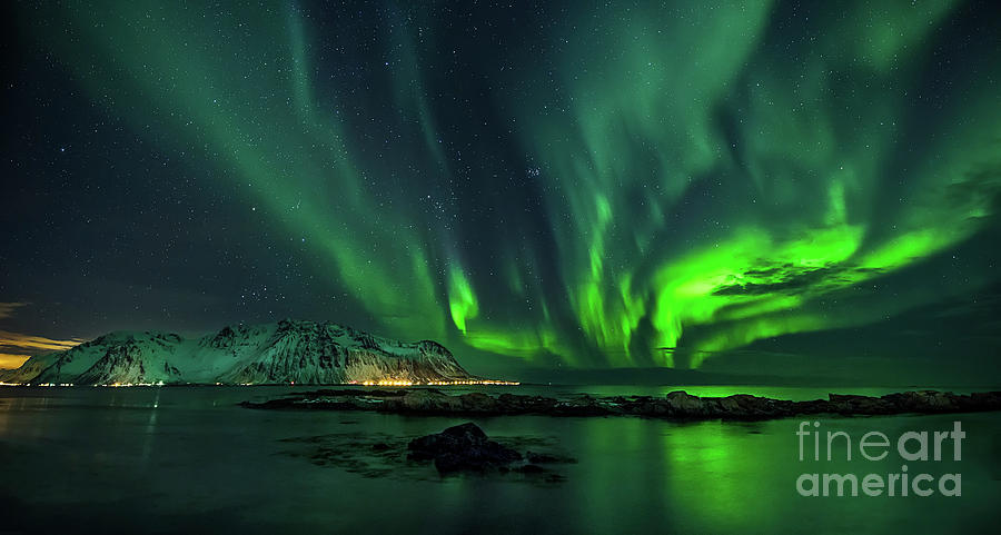Lofoten Photograph - Aurora by Tomasz Slawinski