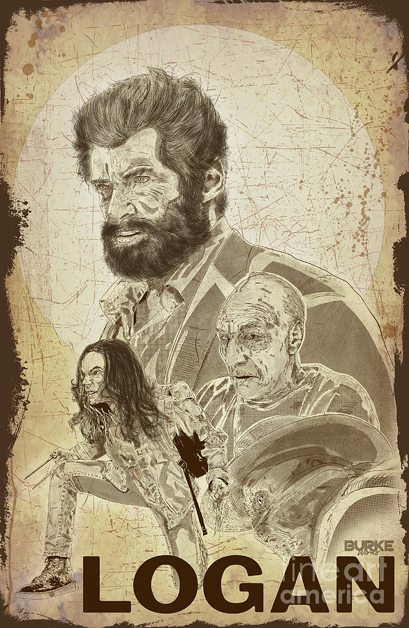 Wolverine Digital Art - Logan by Joseph Burke