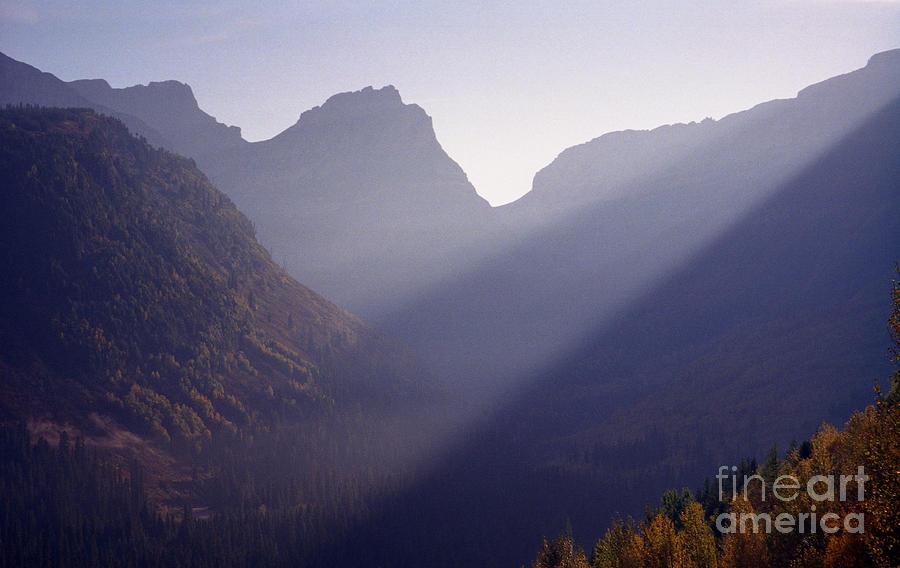 Mountains Photograph - Logan Pass by Richard Rizzo