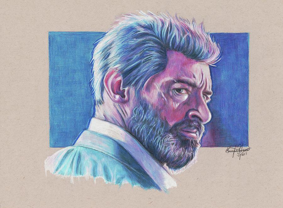 Logan Drawing - Logan  by Serafin Ureno
