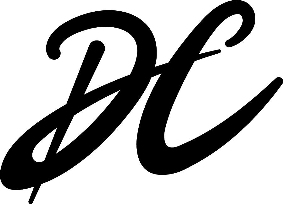 Font Painting - Logo by DC Houle