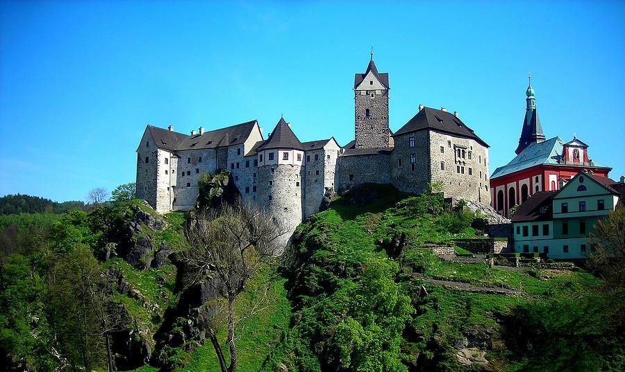 Loket Castle  by Juergen Weiss