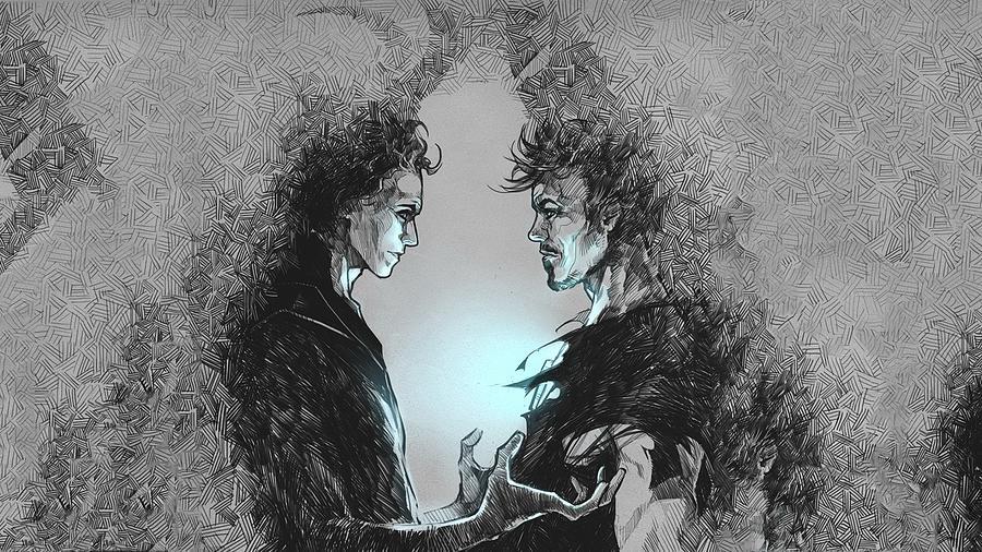 Loki and Tony Stark artwork-512 by Jovemini ART