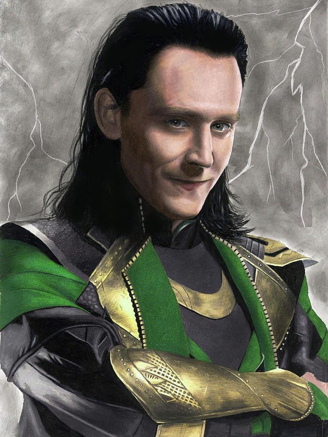 Loki Fanart Drawing By Jasmina Susak