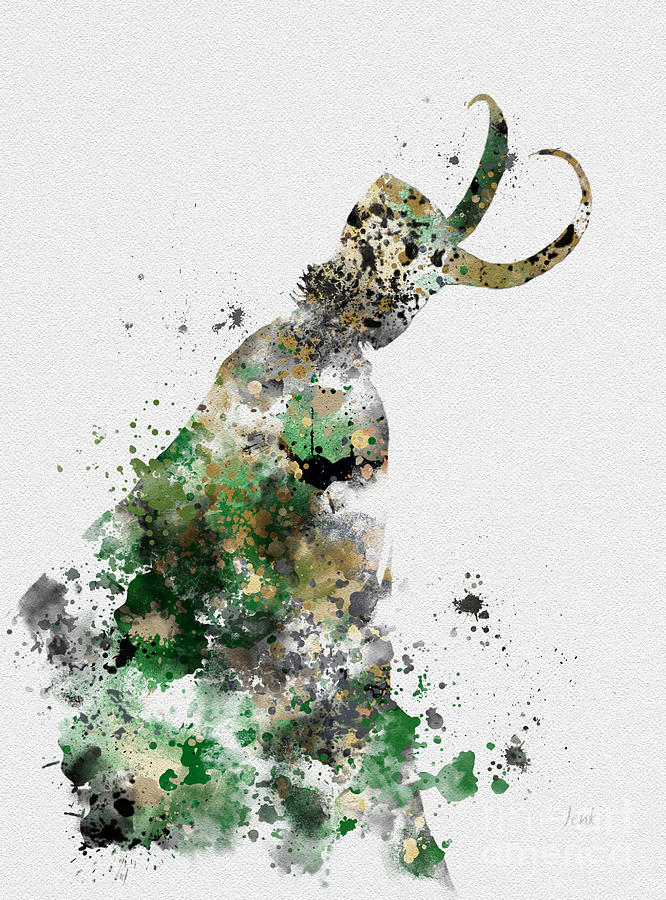 Loki Mixed Media - Loki by My Inspiration