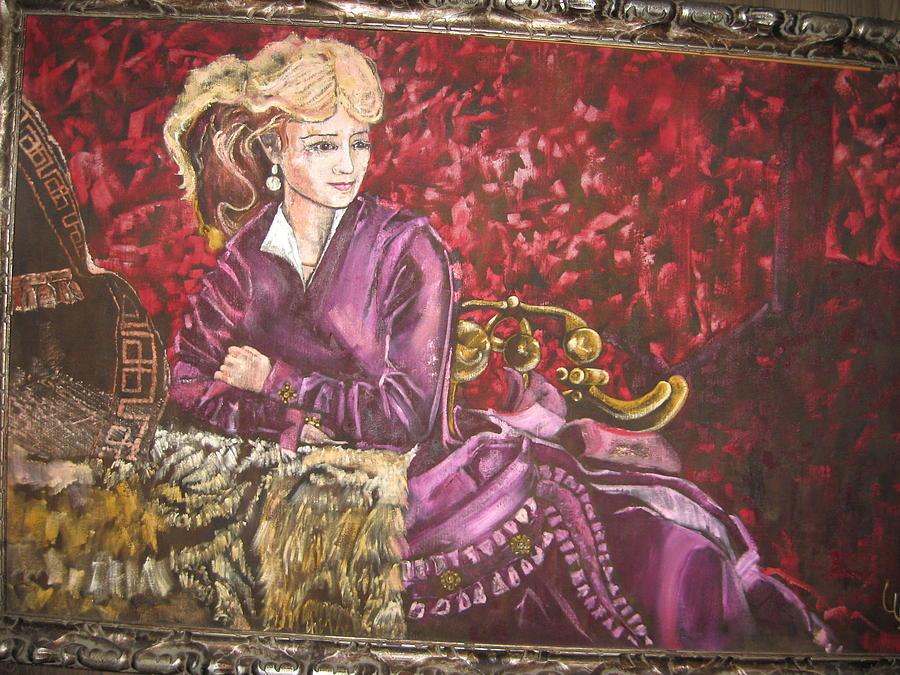 Lola Montez Painting by Lila Witt Locati