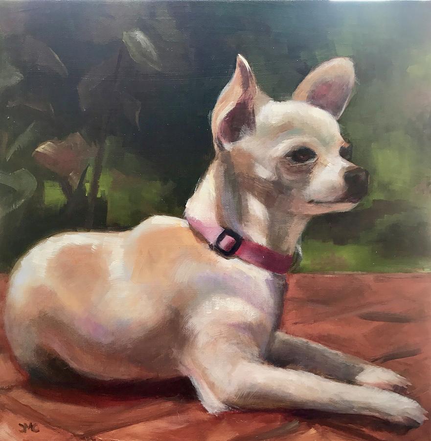 Lolita Martinez Painting by Cynthia Mozingo