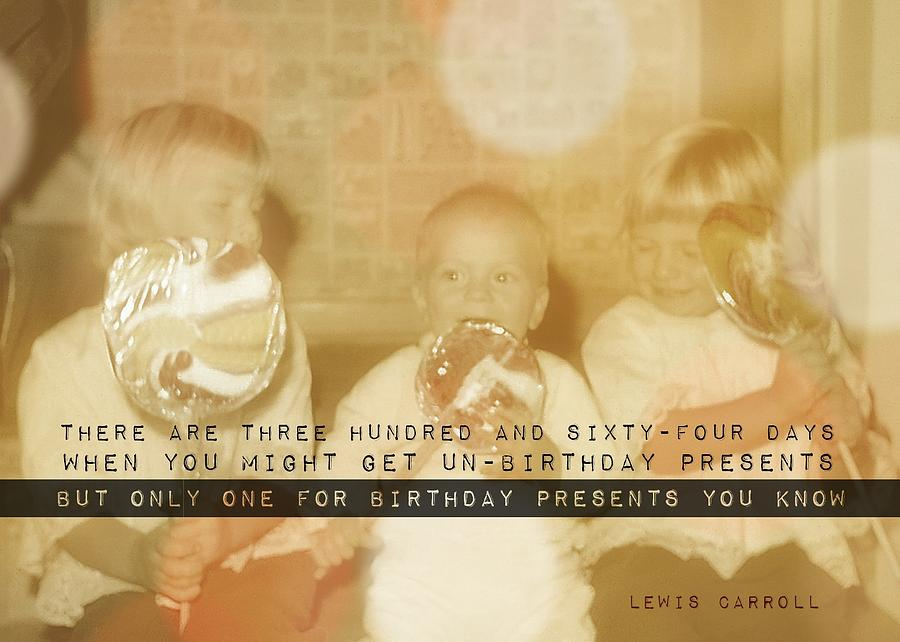 Happy Photograph - Lollipops Quote by JAMART Photography