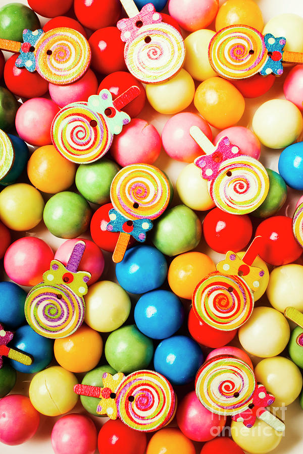 Gum Photograph - Lolly Shop Pops by Jorgo Photography - Wall Art Gallery
