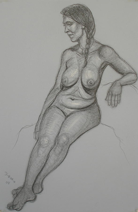 Realism Drawing - Loma 1 by Donelli  DiMaria