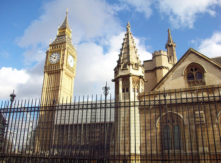 London Photograph - London - Big Ben  by Munir Alawi