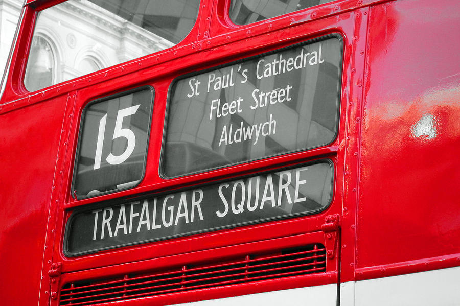 London Photograph - London - Routemaster 15 by Jaime Scatena