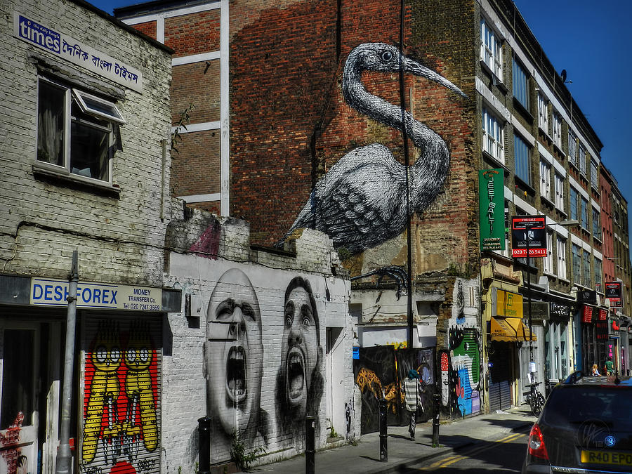 Brick Lane Photograph - London 127 by Lance Vaughn