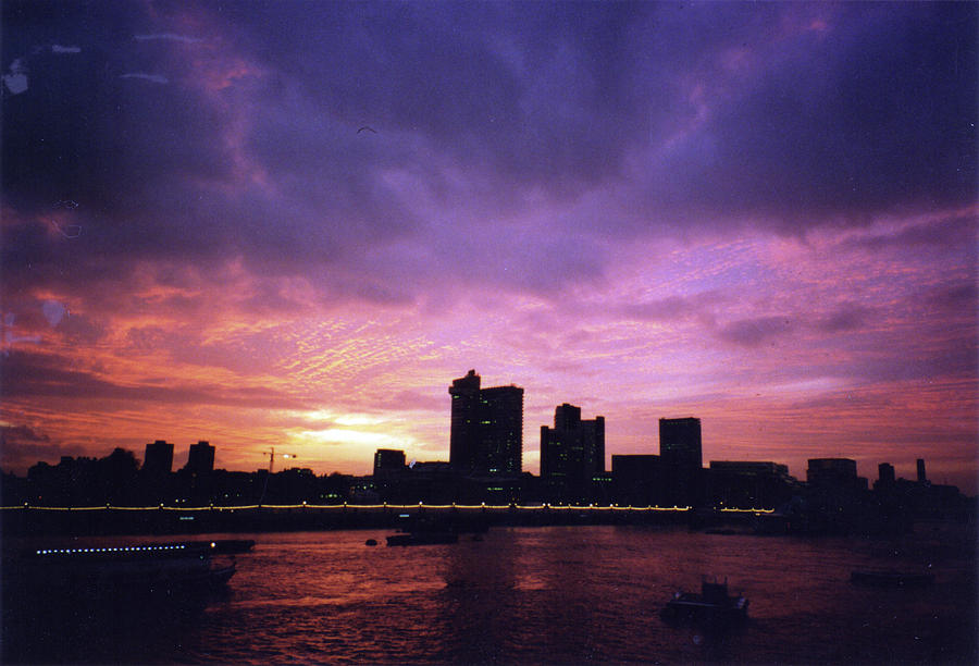 London at Sunset 1996 Color by Erik Paul