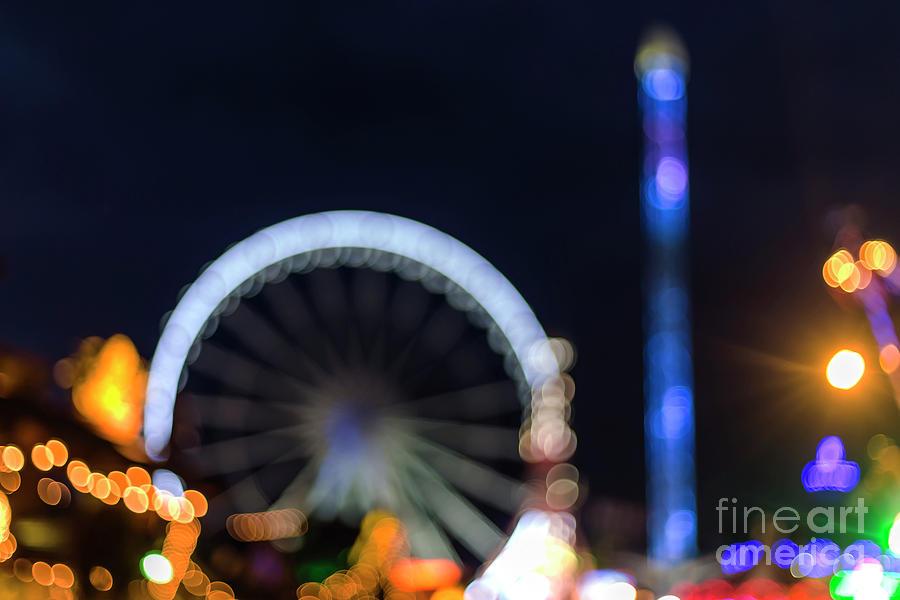 Big Ben Photograph - London Christmas Markets 13 by Alex Art and Photo