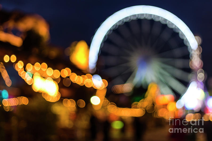 Magical Photograph - London Christmas Markets 14 by Alex Art and Photo