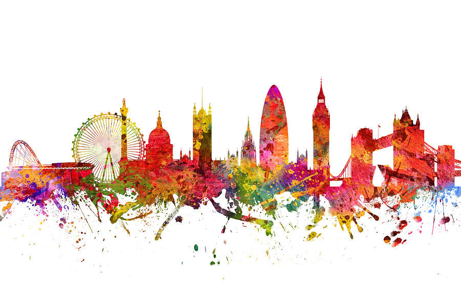 London Cityscape Art