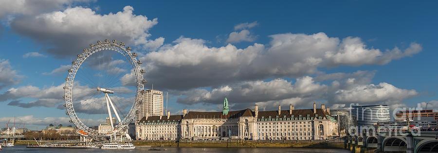 British Photograph - London Eye by Adrian Evans