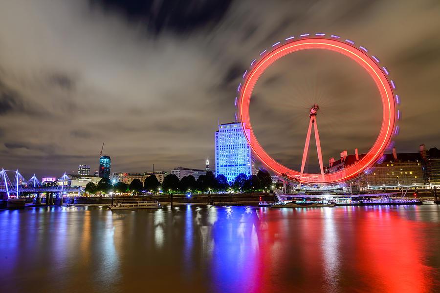 River Photograph - London Eye by Ivelin Donchev