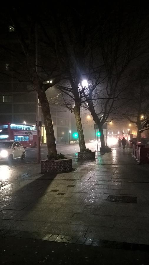 London Fog by Magda Levin-Gutierrez
