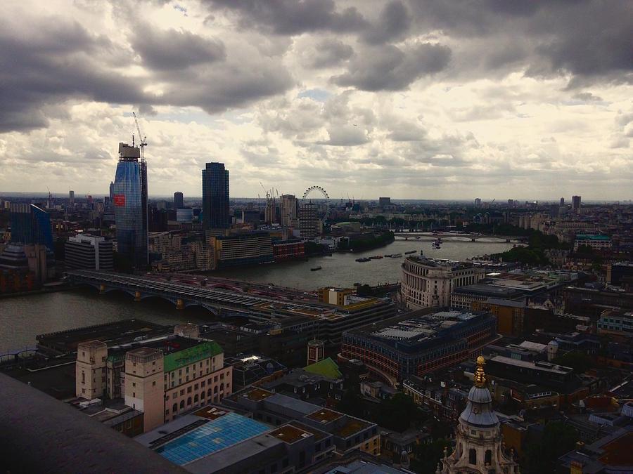 London Photograph - London by Garrett Blum