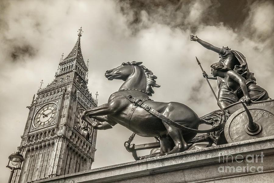 Big Ben Photograph - London Guardians by Stacey Granger