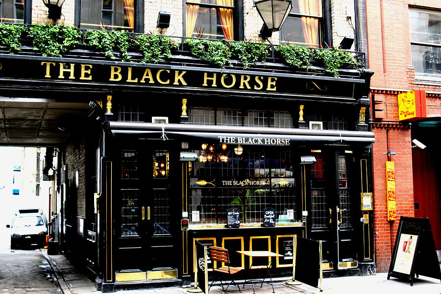 Pub Photograph - London Pub by Tony Brown