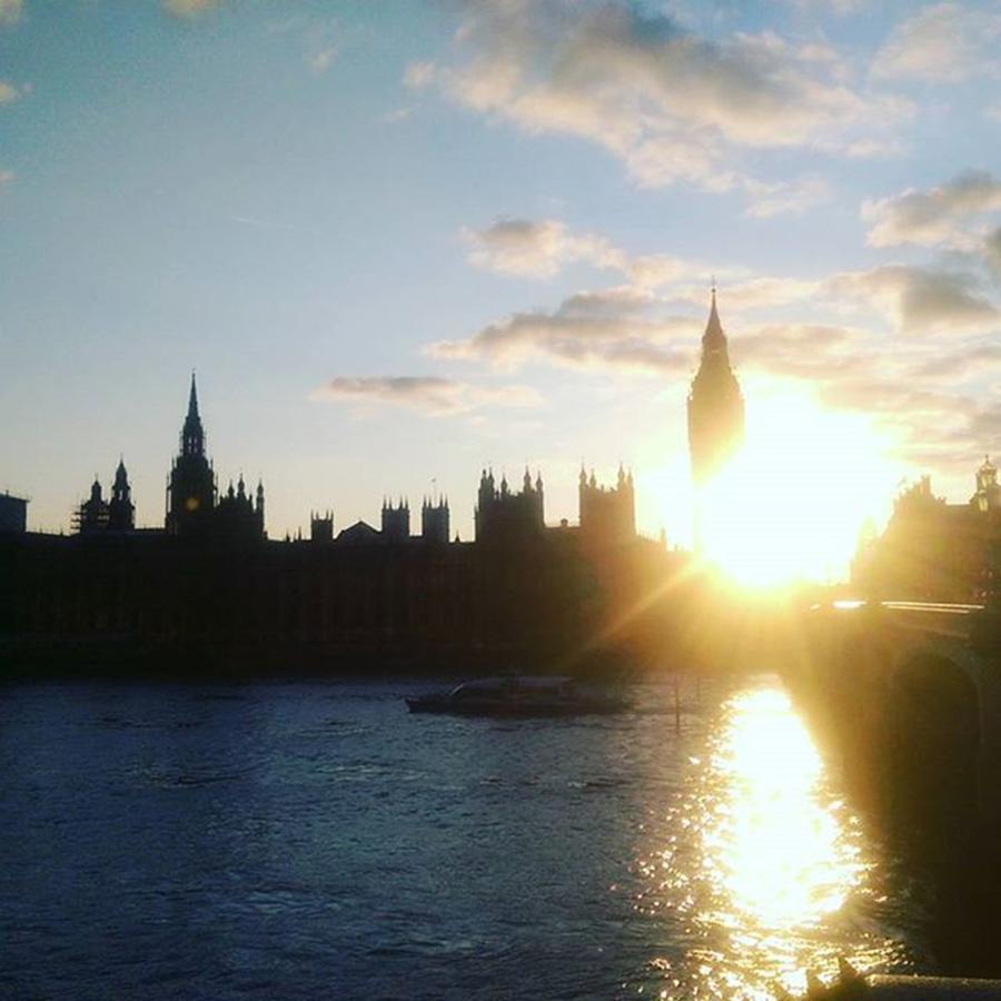 London Skyline At Sunset Photograph by Marc-Andre Morissette
