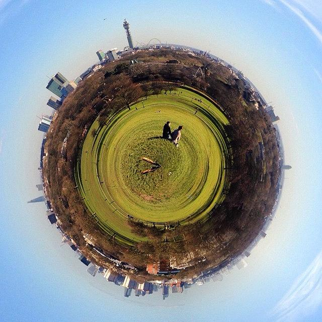 Skyline Photograph - #london #skyline From Primrose Hill #uk by Raimon Rafols