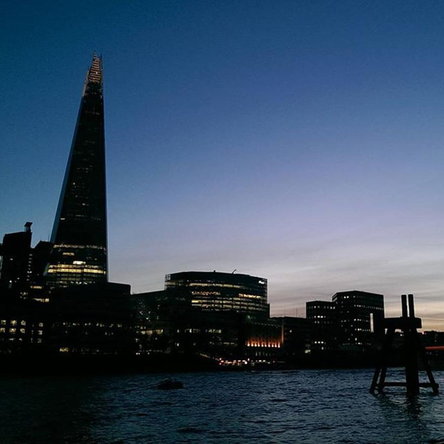 Beautiful Photograph - #london  #skyline The #shard Is Such A by Leandros Kounadis