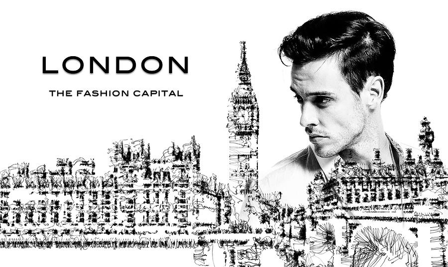 London The Fashion Capital Digital Art
