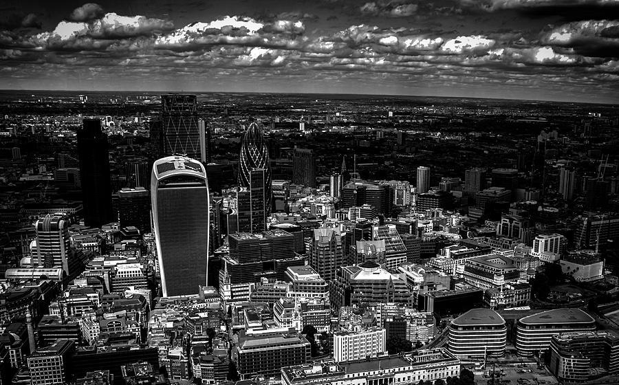 London Photograph - London Town by Martin Newman