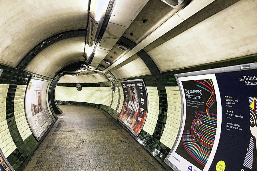 London Tube by Nora Martinez