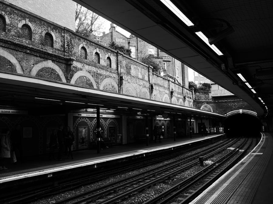 London Photograph - London Underground Station by Lexa Harpell