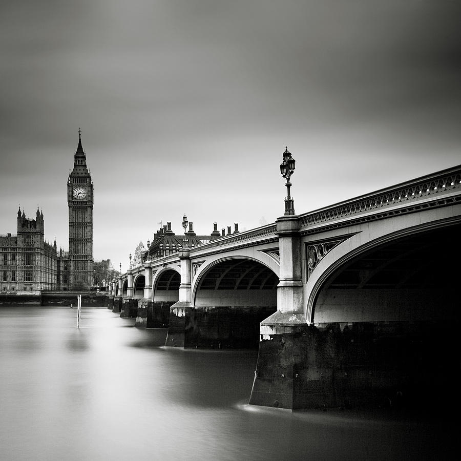 London Photograph - London Westminster by Nina Papiorek