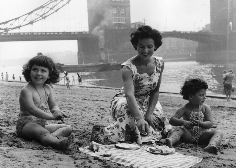 Child Photograph - Londons Seaside by Chris Ware