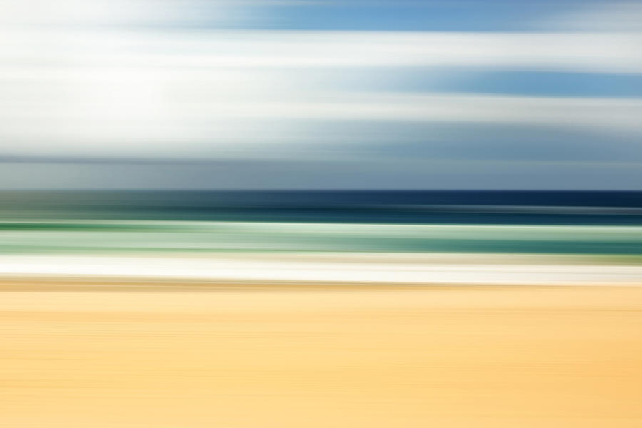 Lone Beach Photograph