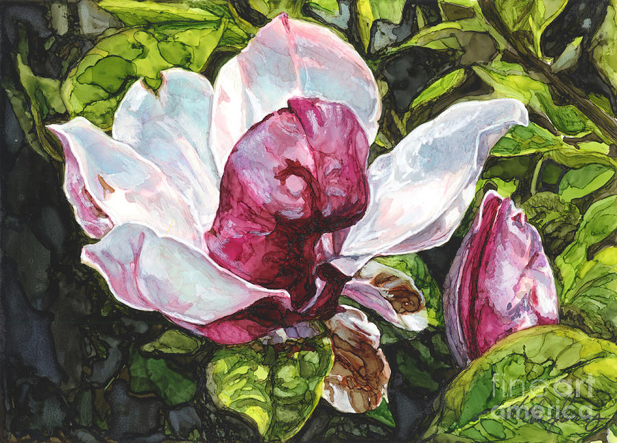 Lone Magnolia by Vicki Baun Barry