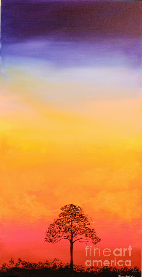 Sunset Painting - Lone Pine by Michele Hollister - for Nancy Asbell
