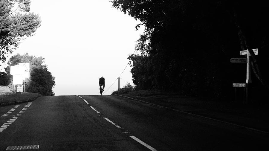 Lone rider by Pedro Fernandez
