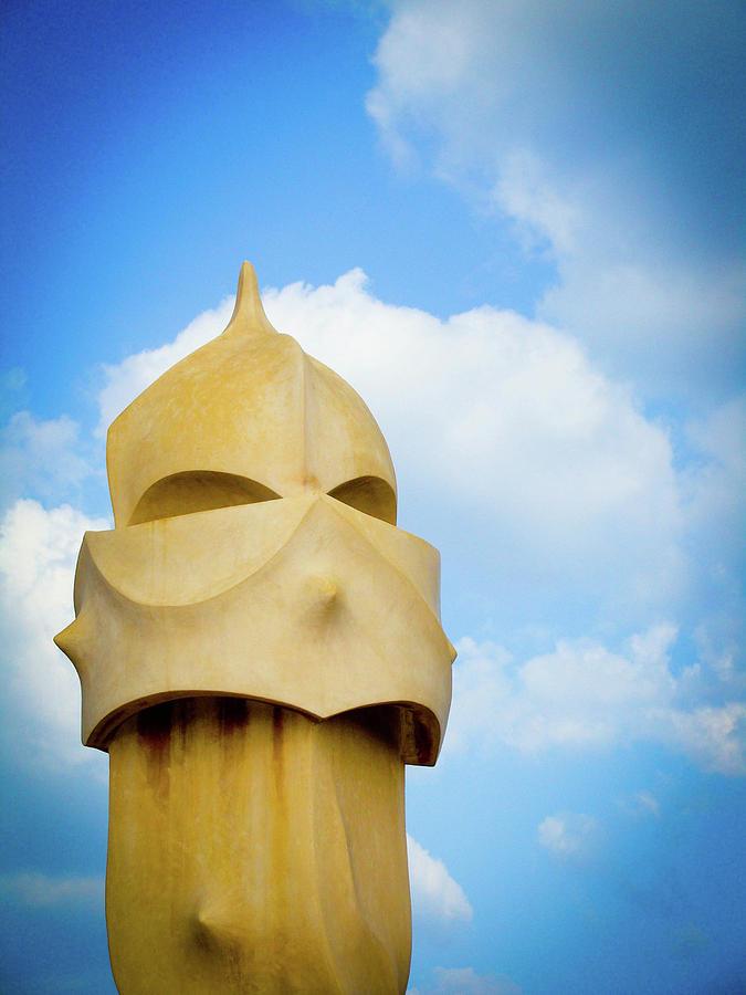 Gaudi Photograph - Lone Soldier by Patrick Rabbat