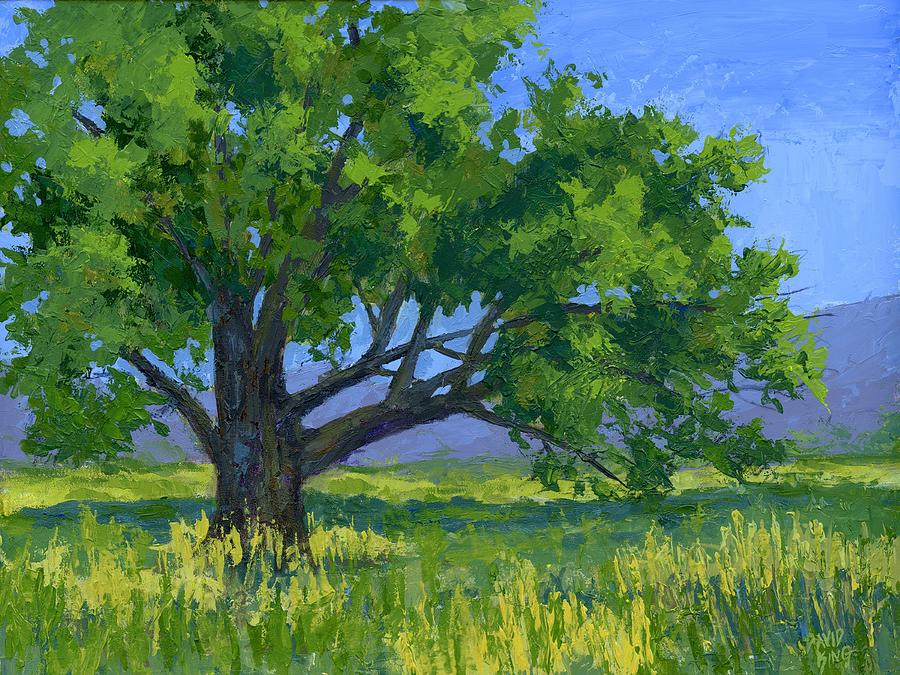 Painting Painting - Lone Tree by David King