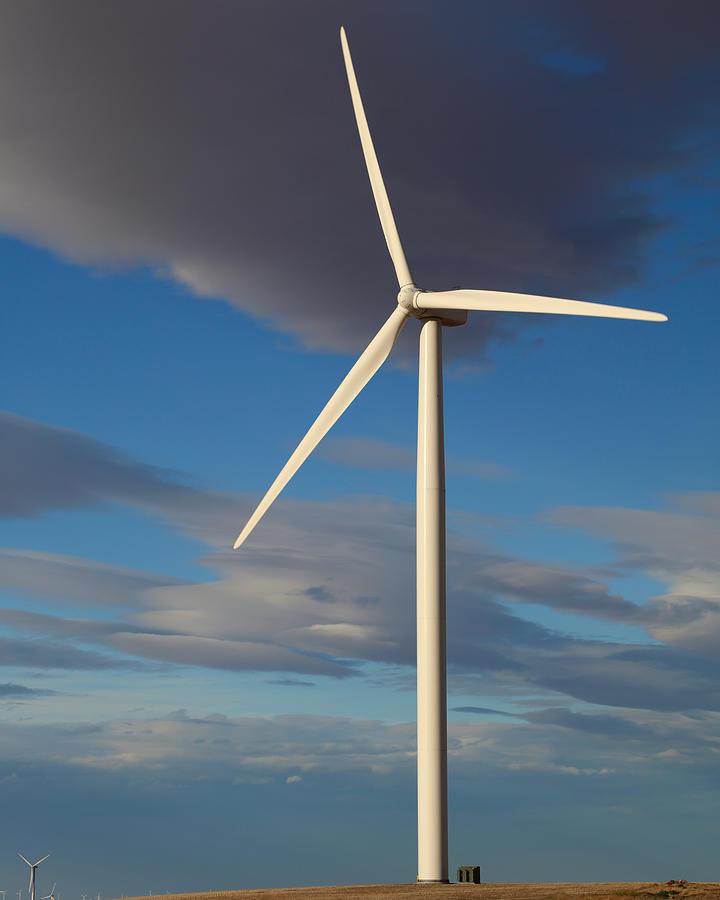 Lone Turbine by Todd Kreuter