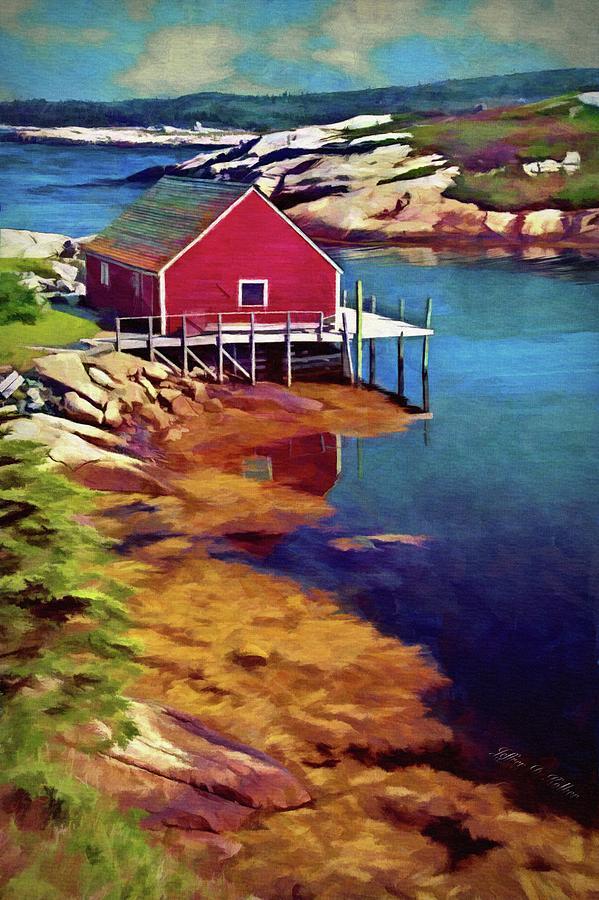 Lone Wharf by Jeffrey Kolker