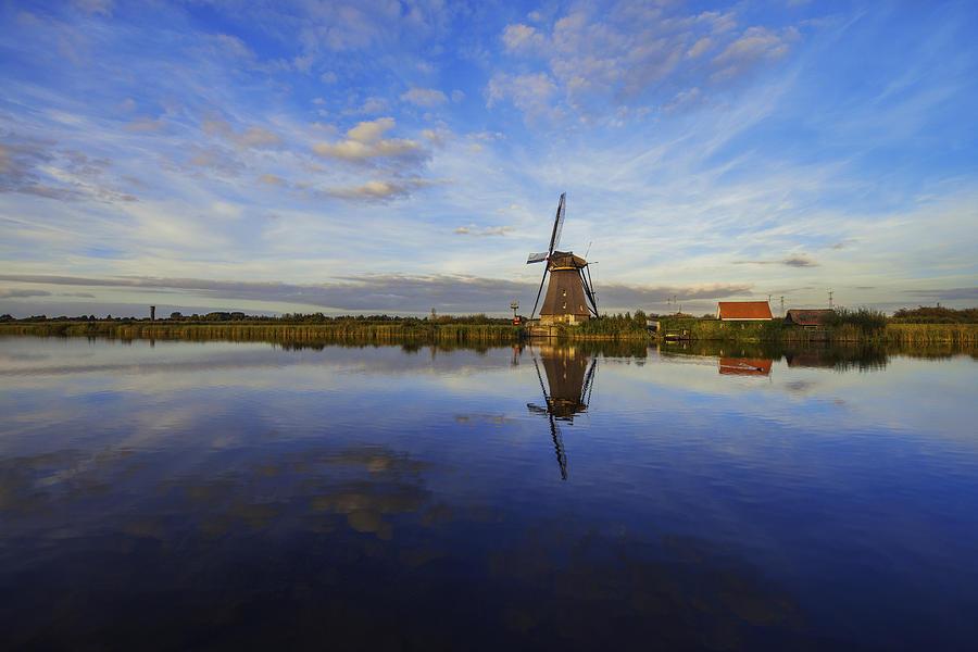 Windmill Photograph - Lone Windmill by Chad Dutson