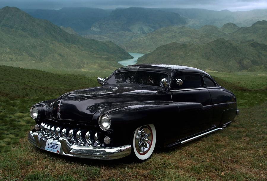 Lone Wolf 1949 Mercury Low Rider Photograph by Tim McCullough